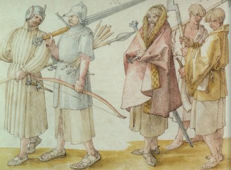 Galloglass Circa 1521